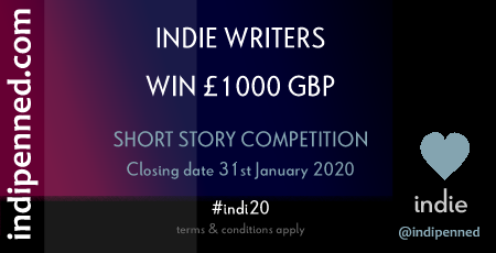 Enter the Indipenned 2020 short story competition to win £1000