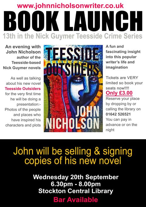 John Nicholson Book Launch